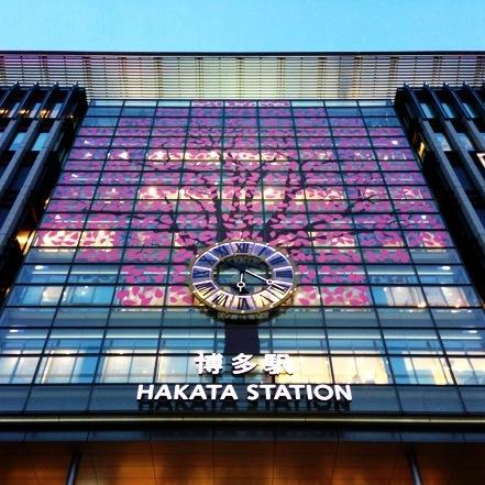 博多駅桜イルミネーション